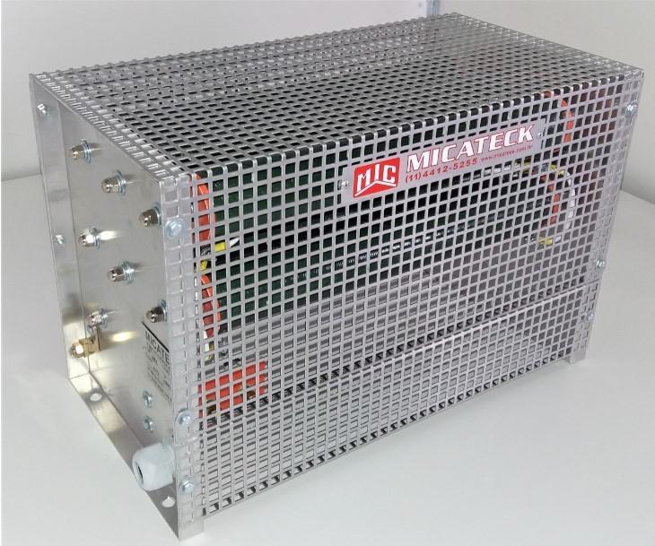 Banco de resistores de frenagem