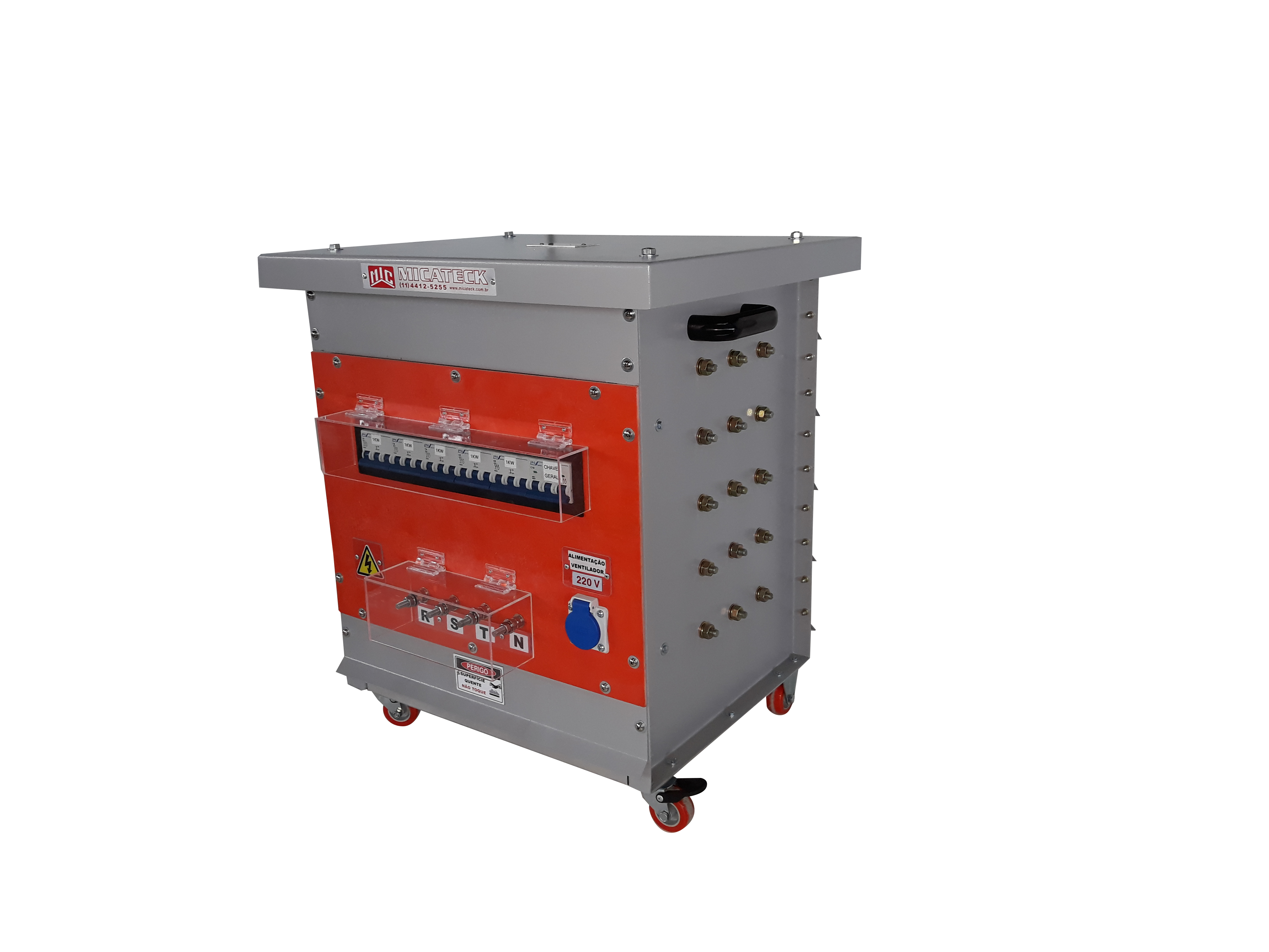 Bancos de carga para geradores