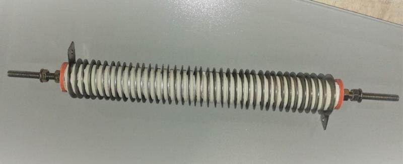 Resistor tubular