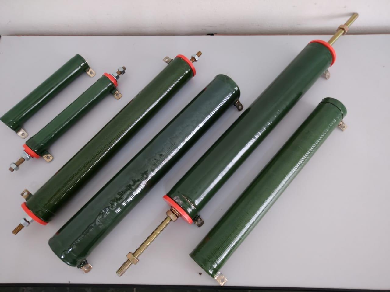 Resistor tubular de fio